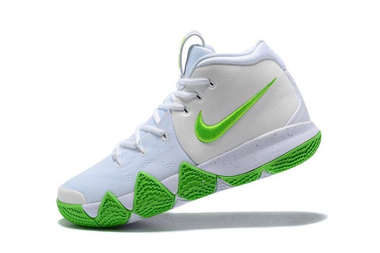 972f510373d3 2018 Mountain Dew x Nike Kyrie 4 K.A.R.E. Kit White Green For Sale ...