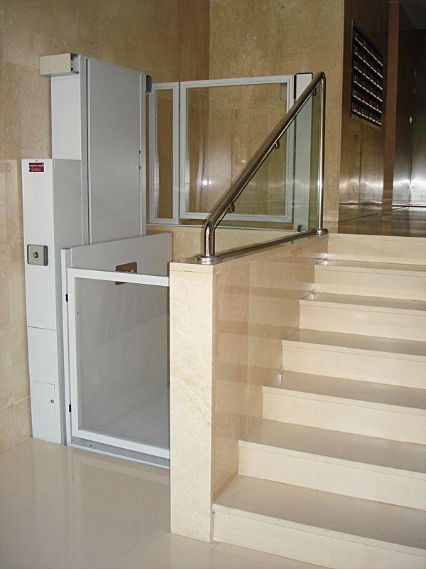 Montacargas para personas buscar con google elevadores for Salvaescaleras vertical