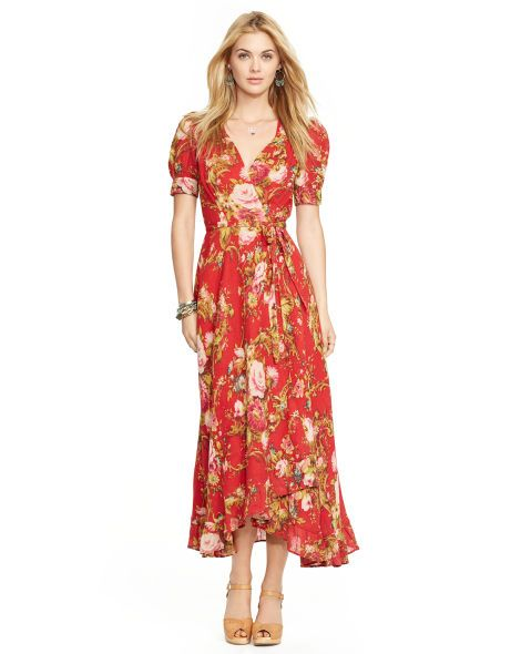 12680cdf8b Floral Wrap Dress - Denim & Supply Maxi Dresses - RalphLauren.com ...