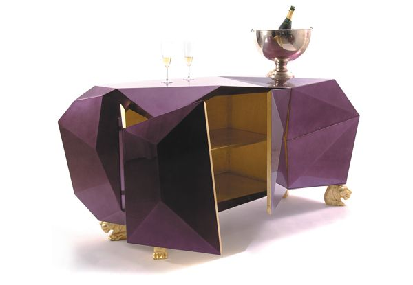 Obnoxious In a cool way Diamond Sideboard from Boca do Lobo