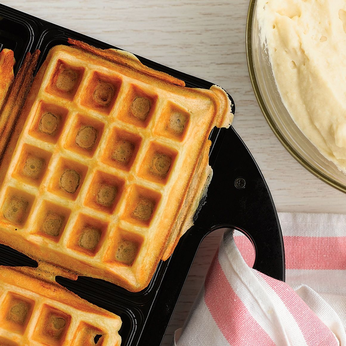Buttermilk Waffles Recipe Buttermilk Waffles Waffle Recipes Savory Waffles