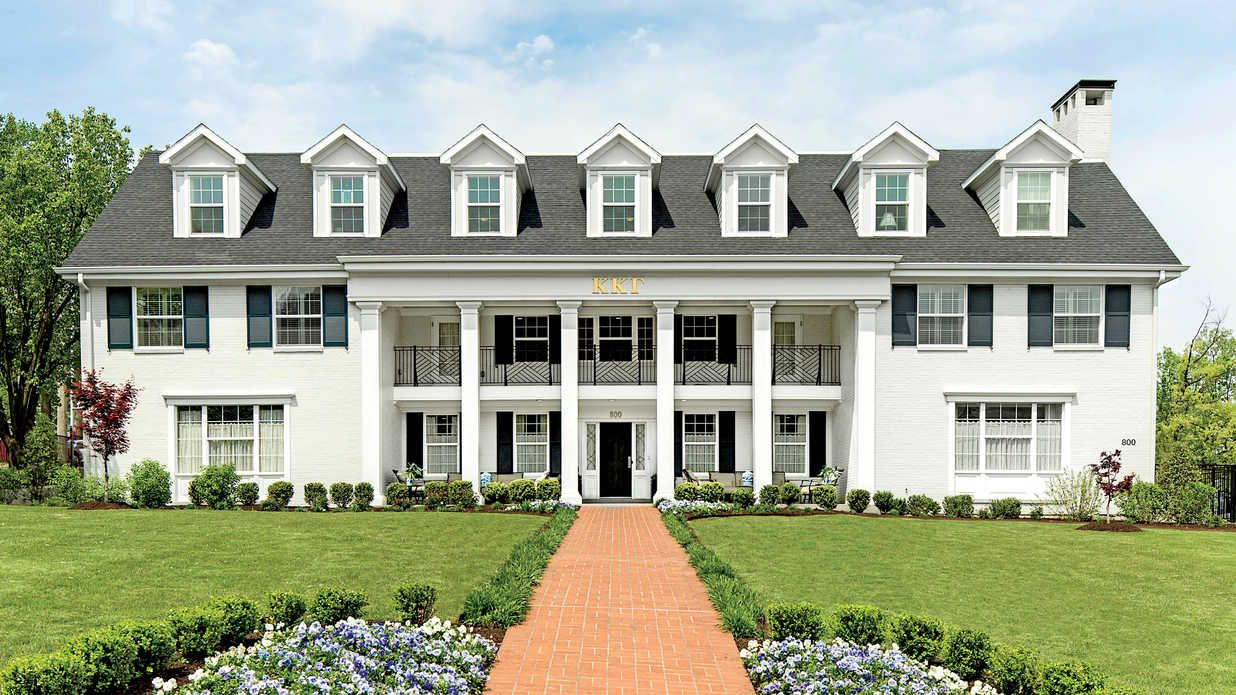 kappa kappa gamma - the south's most beautiful sorority houses