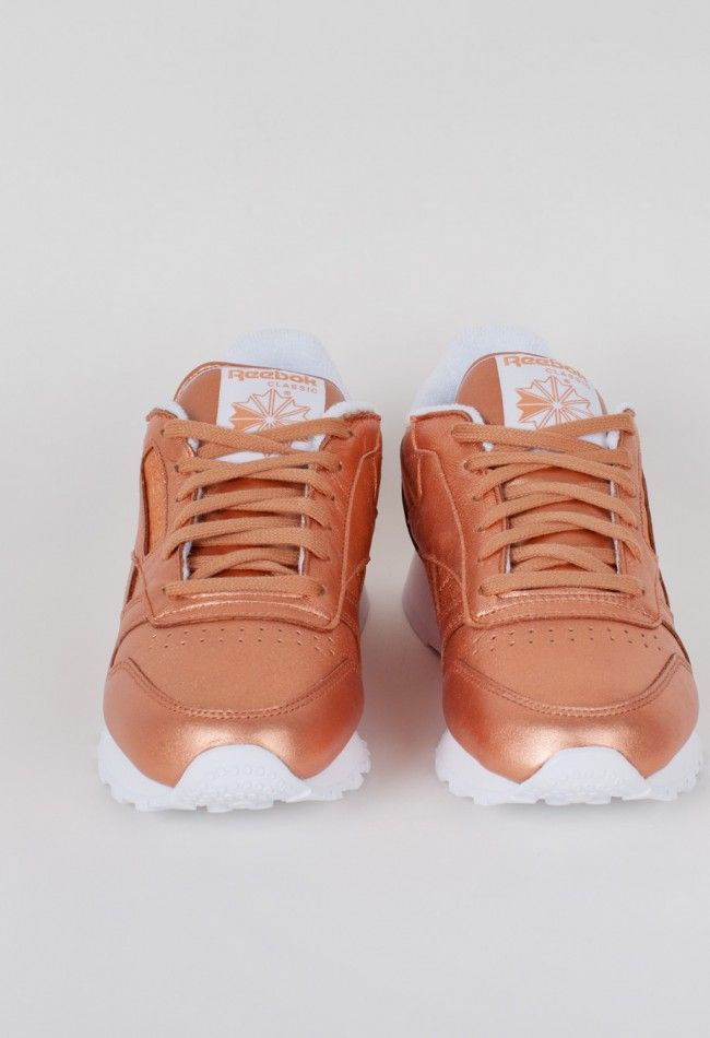 Reebok Classic Leather Spirit Impulsive Bronze/White – Voo Store