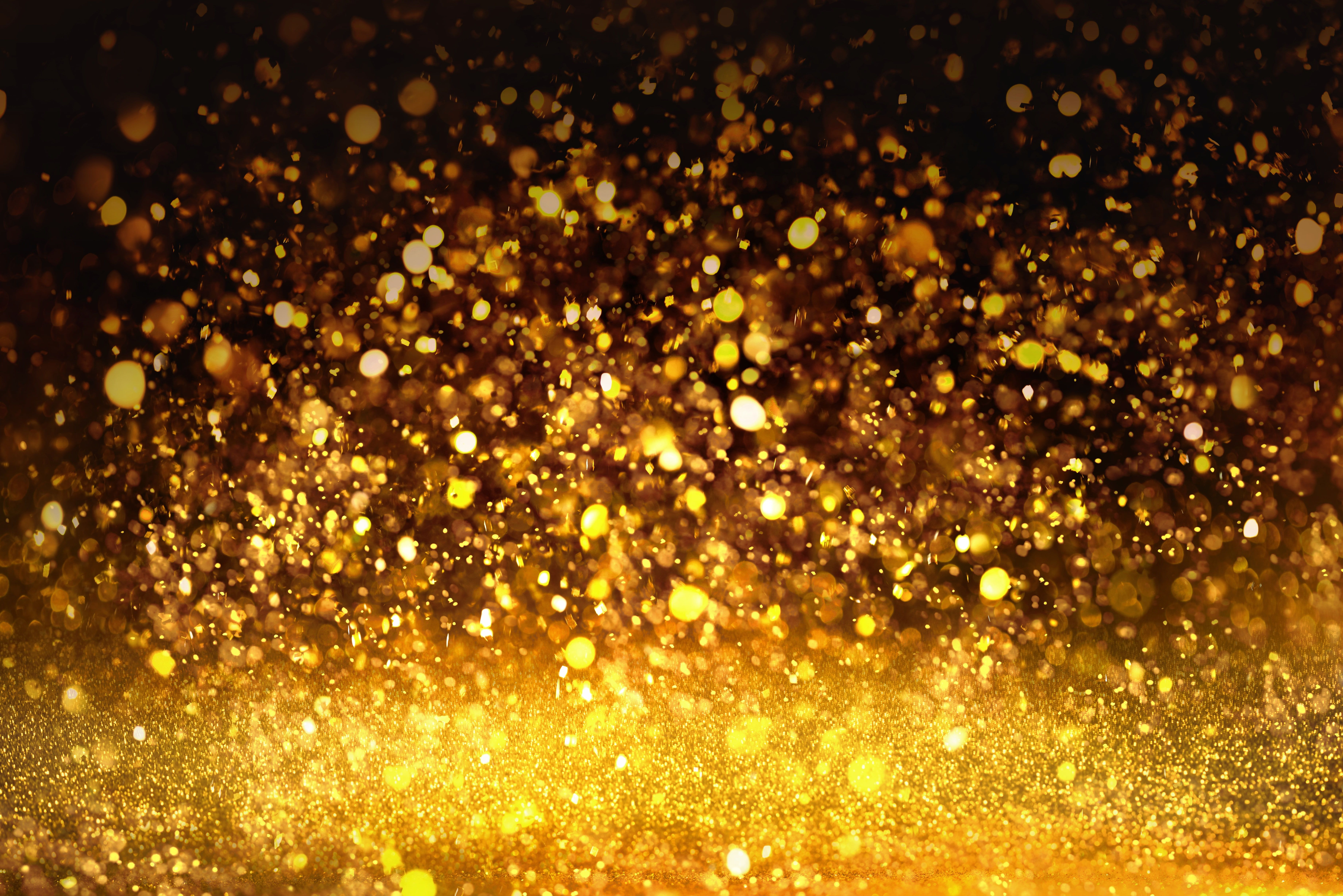 Background Sequins Golden Gold Texture Bokeh Bokeh Shine Glitter 5k Wallpaper Hdwallpaper Desktop Bokeh Texture Creative Background Bokeh