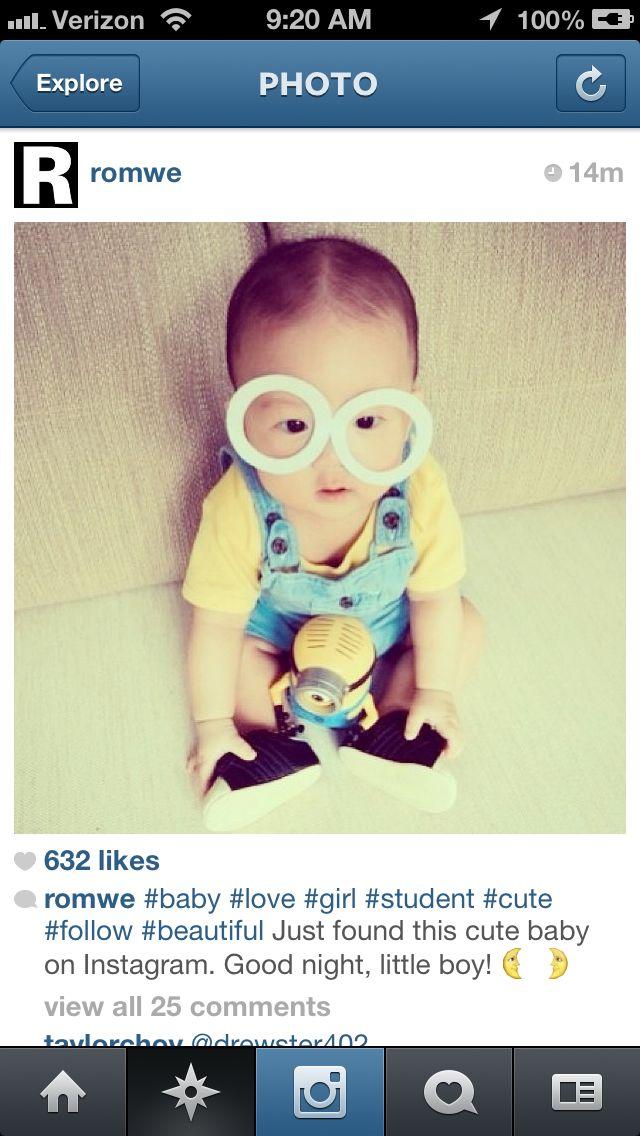 ASIAN BABY MINION!!! | Asian Babies <3 | Pinterest