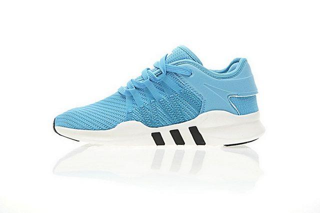 best sneakers b7877 164cb Adidas Originals Homme Chaussures EQT Support ADV Primeknit 93 17 Prix Pas  Cher Bleu Blanc