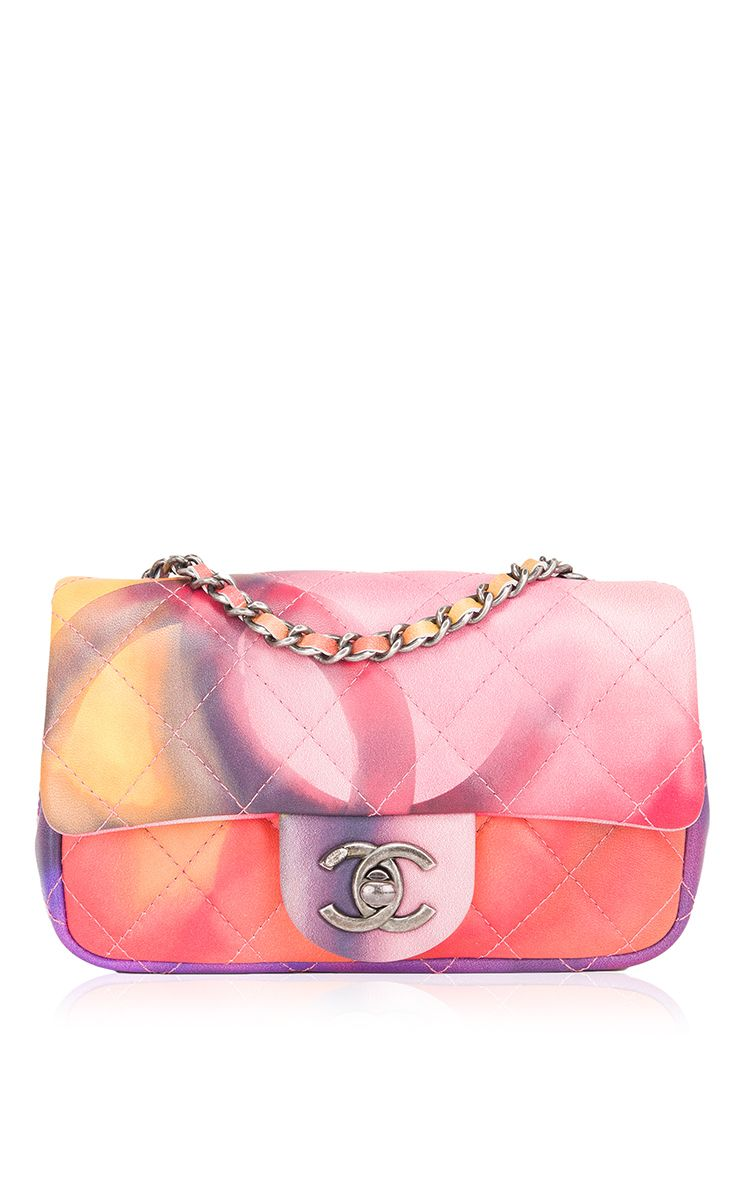 9eea22add931ca Runway Edition Chanel Flower Power Mini Flap Bag by Madison Avenue Couture  for Preorder on Moda Operandi