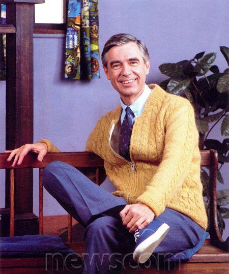 Ah Mr Rodgers Before Men That Wore Sweaters Hung Out With Children Were Considered Pedophiles The Good Old Days Mr Rogers Fred Rogers Kids Shows