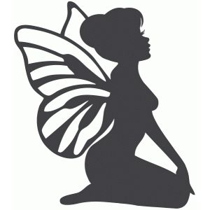 image regarding Fairy Silhouette Printable known as Silhouette Style Retail outlet - Watch Style #66319: sitting down fairy