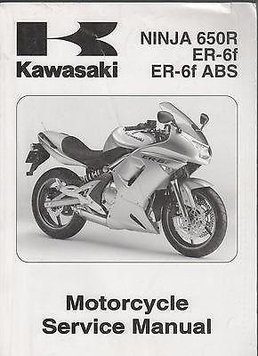 2006 kawasaki motorcycle ninja 650r er 6f er 6f abs service manual rh pinterest co uk 2009 kawasaki ninja 650r service manual 2008 kawasaki ninja 650r owners manual