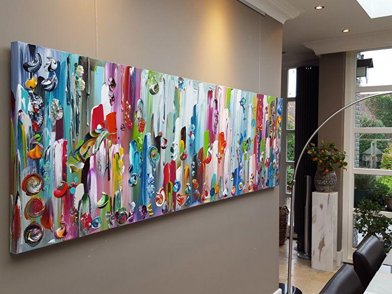 Pin Op Xl Abstracte Kleurrijke Schilderijen Xl Abstrakte Farbreiche Acrylbilder