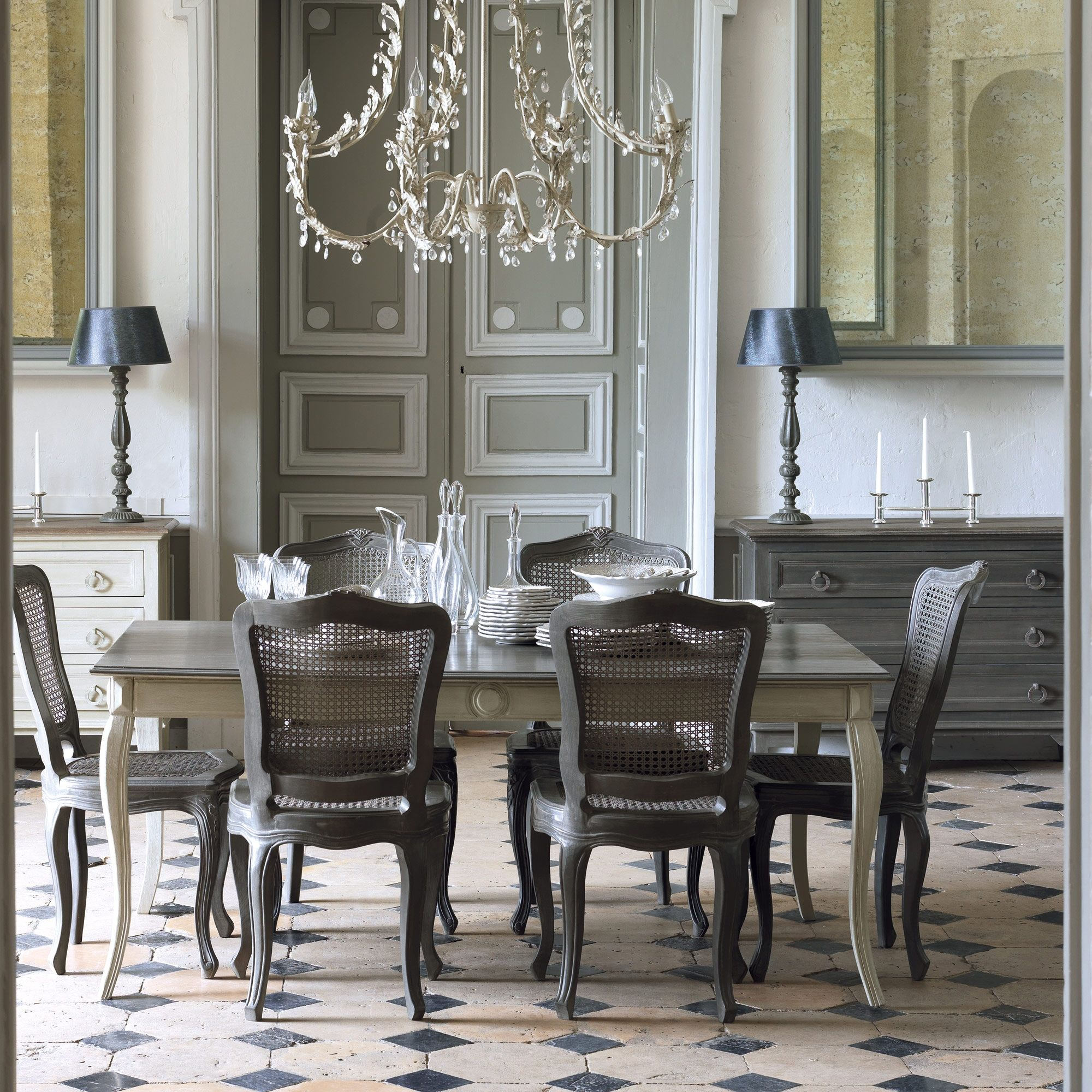 Manon dining table love the table and chairs floor grey u acid