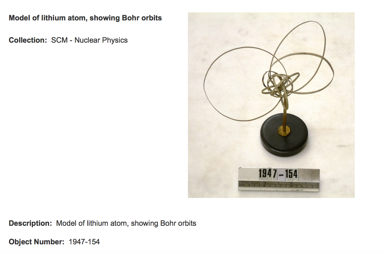 hight resolution of science museum london bohr model lithium