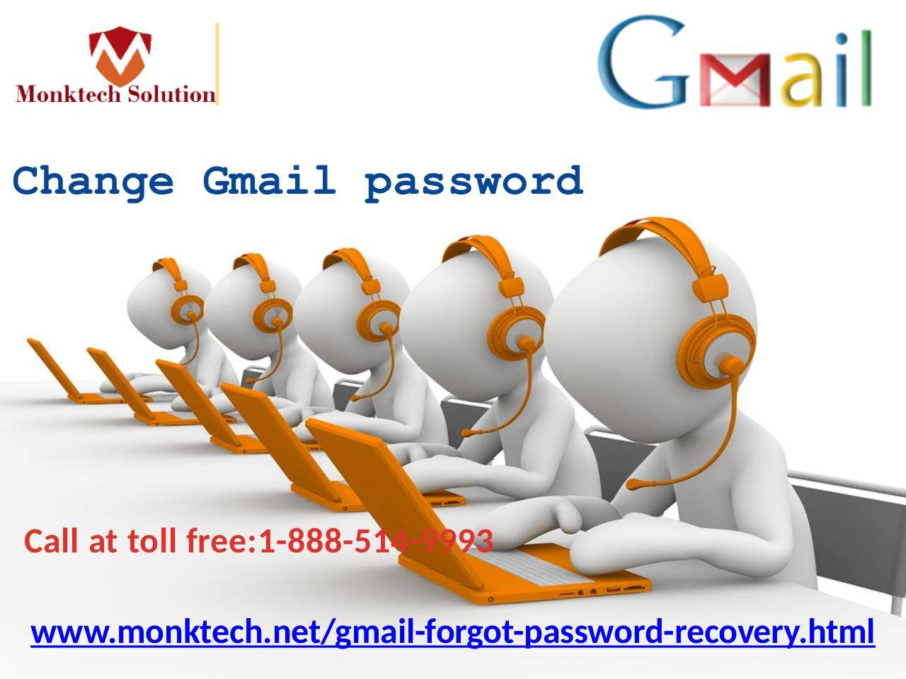 Do you know how to change Gmail password 18885149993