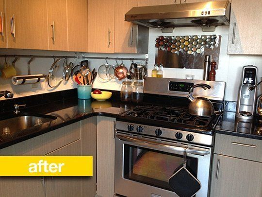 Spice Storage Before After A Spice Rack Backsplash Spice Storage Kitchen Projects Spice Rack
