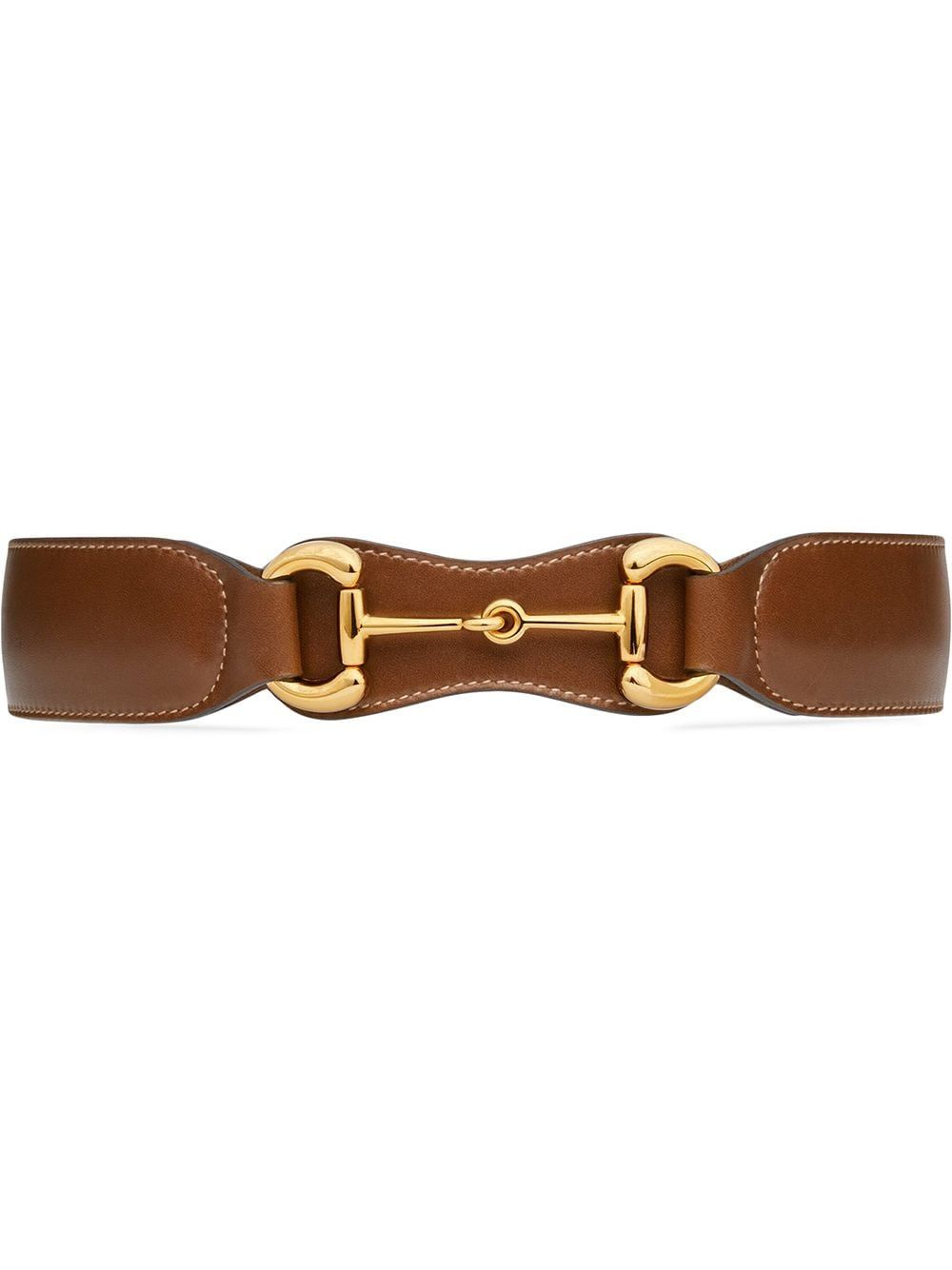 Gucci Gucci 1955 Horsebit Belt Farfetch In 2020 Womens Leather Belt Gucci Brown Leather Belt