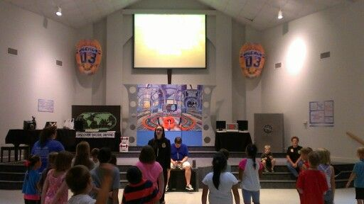 Agency D3 VBS Worship Rally Headquarters
