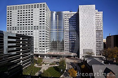 The famous Mayo Clinic Medical Center in Rochester