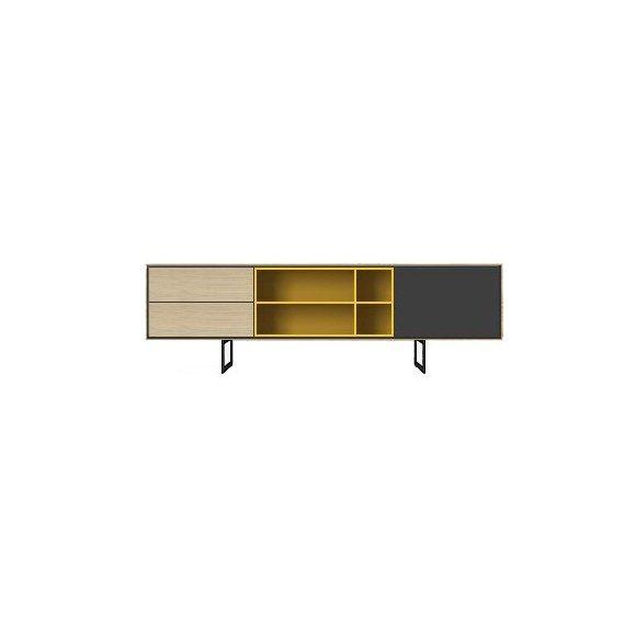 Enfilade Buffet Meuble Tv Aura 164cm Treku Furniture Furniure Home Decor