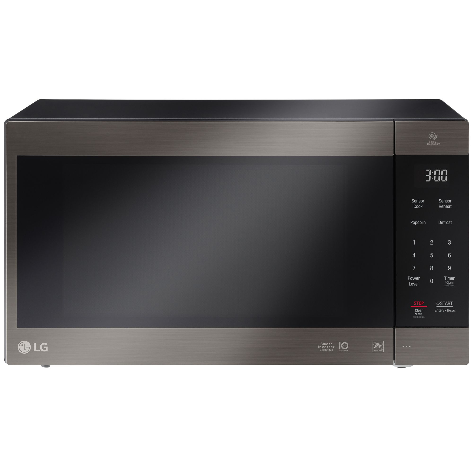 Lg Lmc2075bd 2 0 Cu Ft Neochef Countertop Microwave W Smart