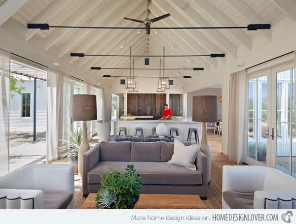 Living Room Designs With Vaulted Ceiling Ceilings Living - Vaulted ceiling living room