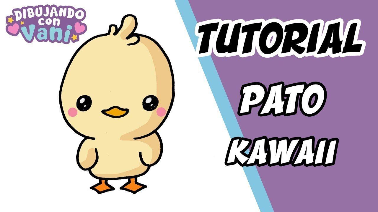 Como Dibujar Un Pato Kawaii Dibujos Imagenes Faciles Anime Para Colore Animales Kawaii Kawaii Imagenes Para Dibujar