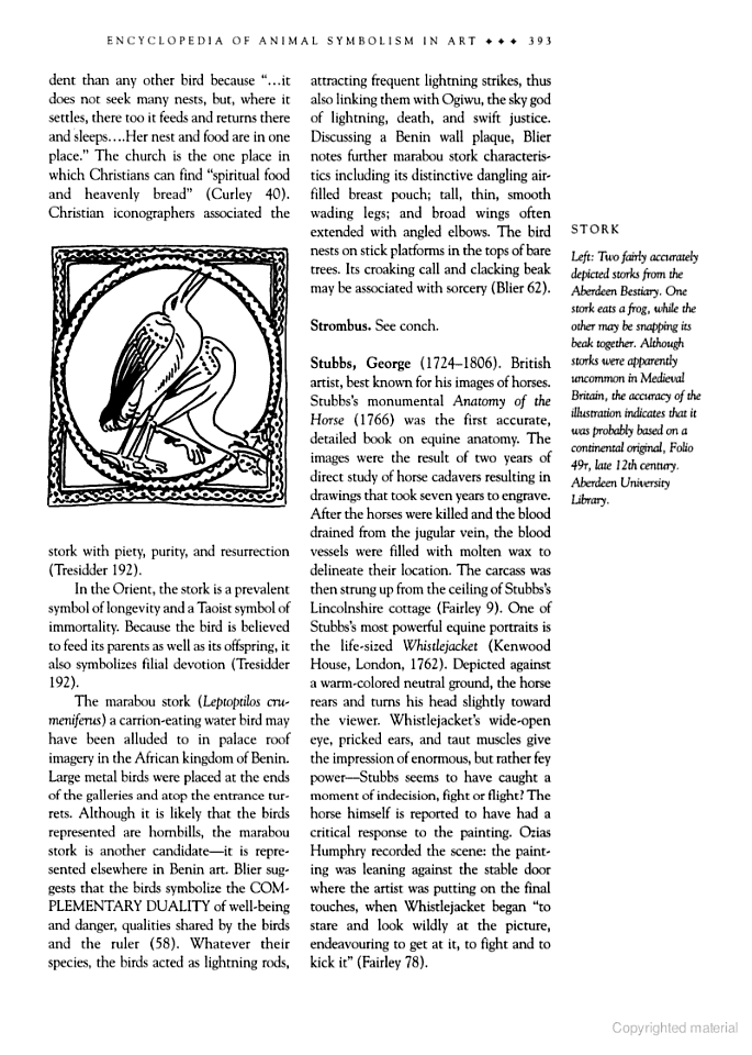 The Continuum Encyclopedia Of Animal Symbolism In World Art Hope B