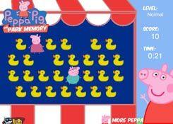 JuegosdePeppaPig.es - Juego: Peppa Pig Park Memory - Jugar Online Gratis