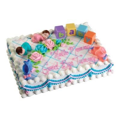 Good Food U0026 Entertaining   Publix Bakery Selections   Decorated Cakes   Baby    Baby Blocks Cake