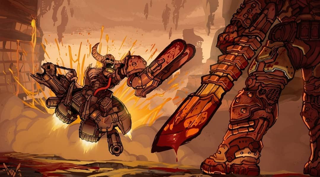 Doom Community On Instagram The Doomhunter Vs The Doomslayer