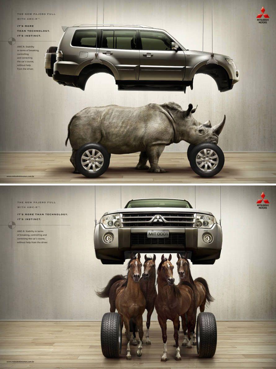 Mitsubishi Commercial Ad Printad Mitsubishi Testdrive