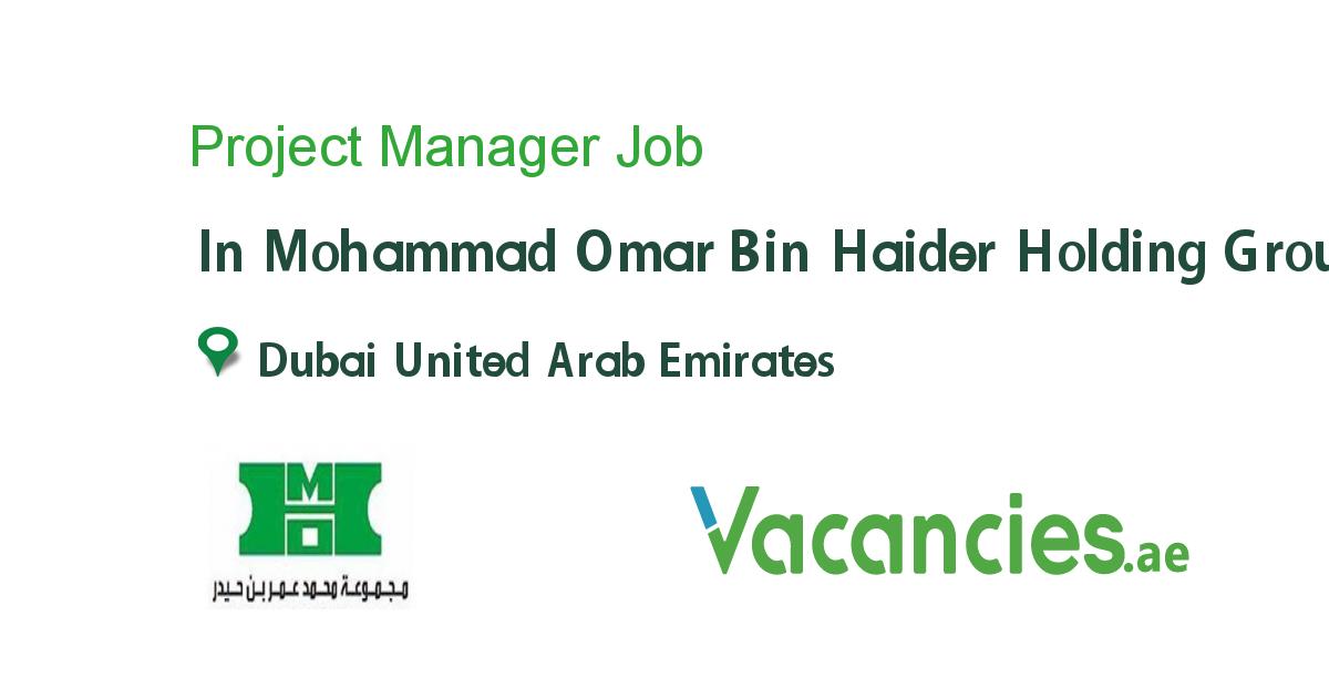 Project Manager Executive jobs, Driver job, Job