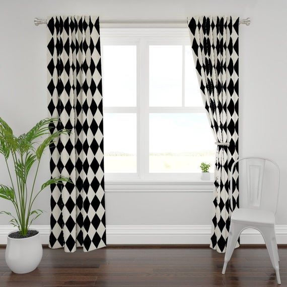 Harlequin Diamonds Curtain Panel