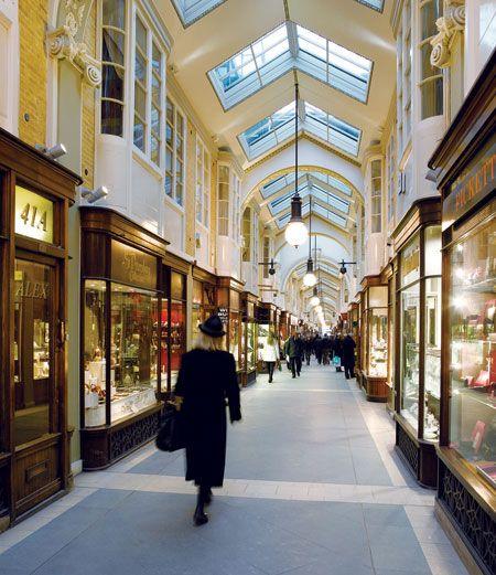 Burlington Arcade in London from @britishairways's highlife magazine, classic British charm!