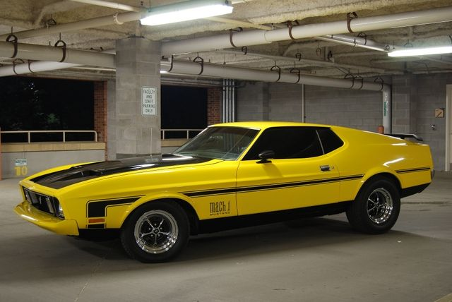 1973 ford mustang mach 1 - gone in 60 seconds (original movie of
