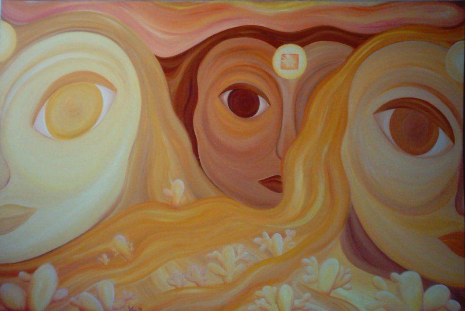 Desert Sands, oil on canvas