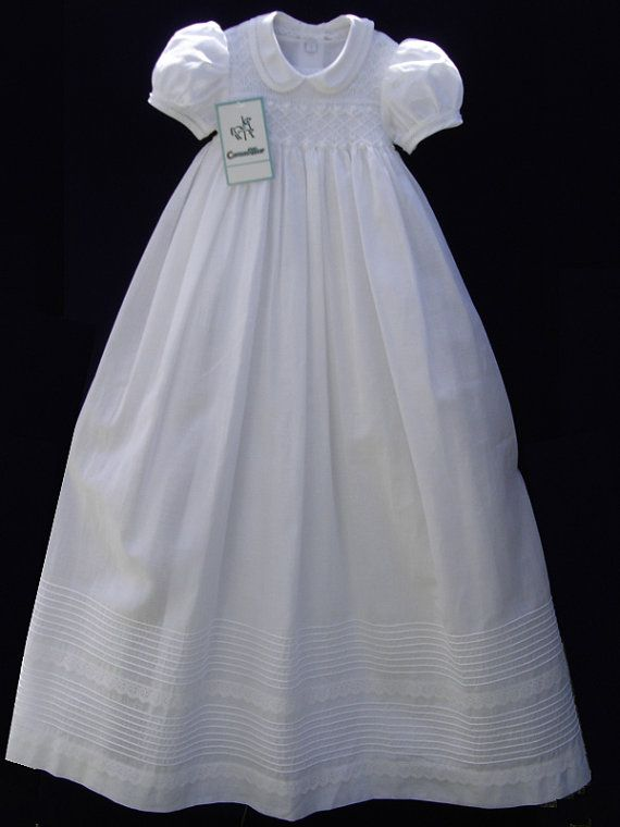 b932ca26d Christening Gown. The Peter Pan collar and short by CarouselWear ...