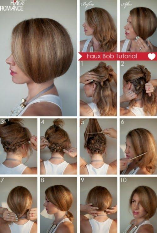 Taglio capelli scalati corti fai da te
