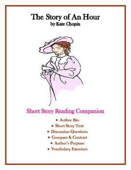 The Story Of An Hour By Kate Chopin Short Study Guide Text To Connection Substitute Teacher Resources Essay On