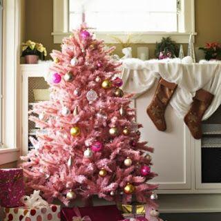 Decoracion Rosa Para Navidad