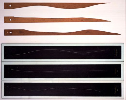 Duchamp. Trois Stoppages-Étalon, 1913