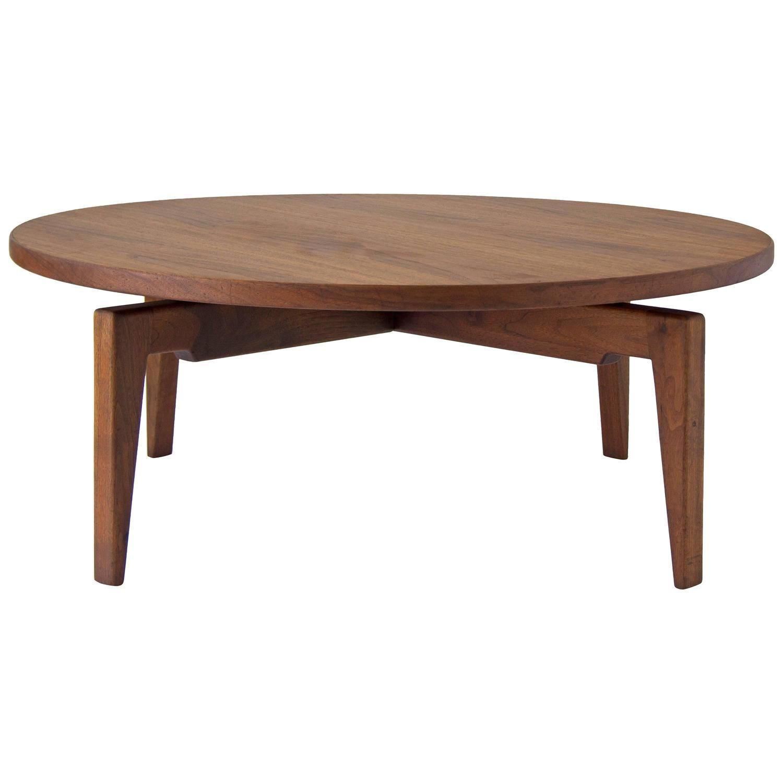 Jens Risom Lazy Susan Coffee Table