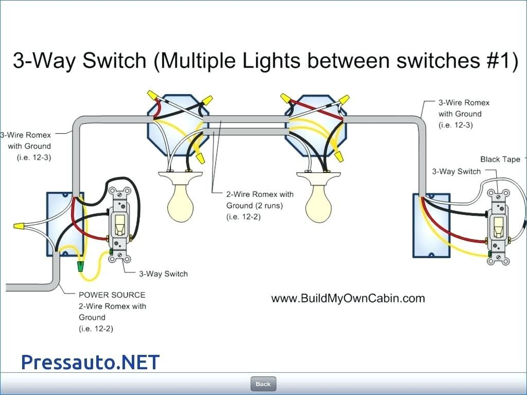 Fine 3 Way Wiring Multiple Lights Photo Simple Diagram Within Two To One  Switch | Light switch wiring, 3 way switch wiring, Three way switchPinterest