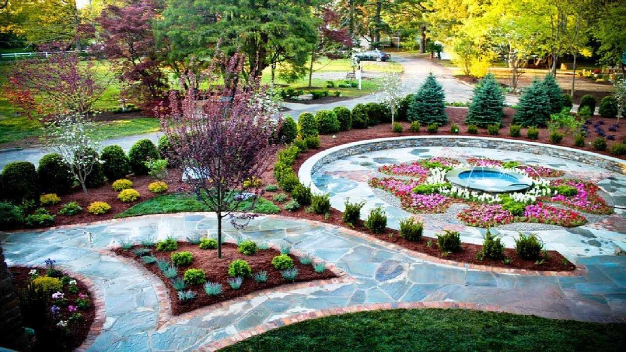40 Great Ideas for a Stunning Front Yard Landscape Design ...