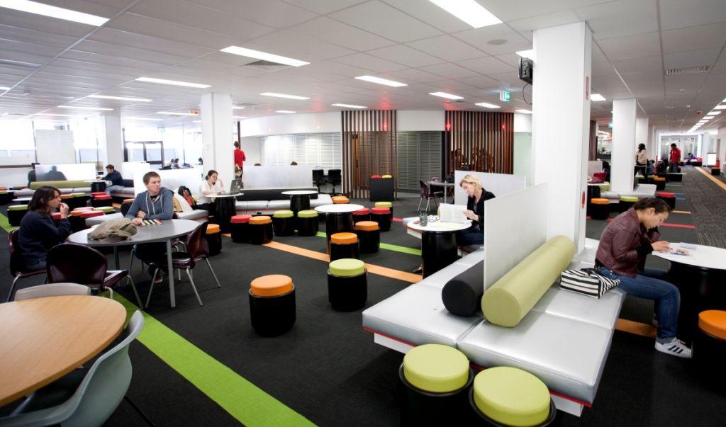 Study Areas Nathan Campus Library Willett Centre N53 Brisbane Australia