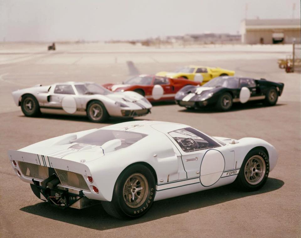 1966 Shelby Team Entries For Le Mans At Lax Gt 40 Ford Gt40 Ford Gt Best Classic Cars