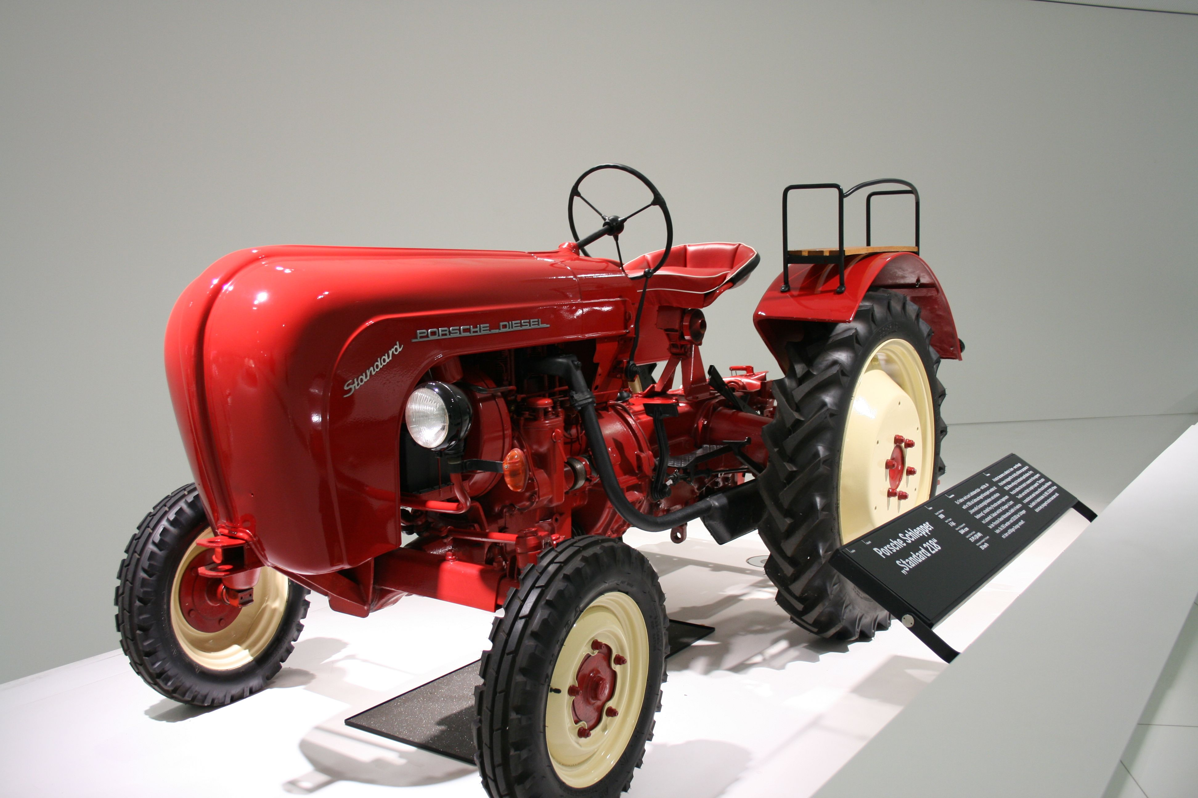 Yes Porsche Once Built A Tractor This One Was Made In 1959 Inside The Porsche Museum Stuttgart Germany Stuttgart Germany Tractors