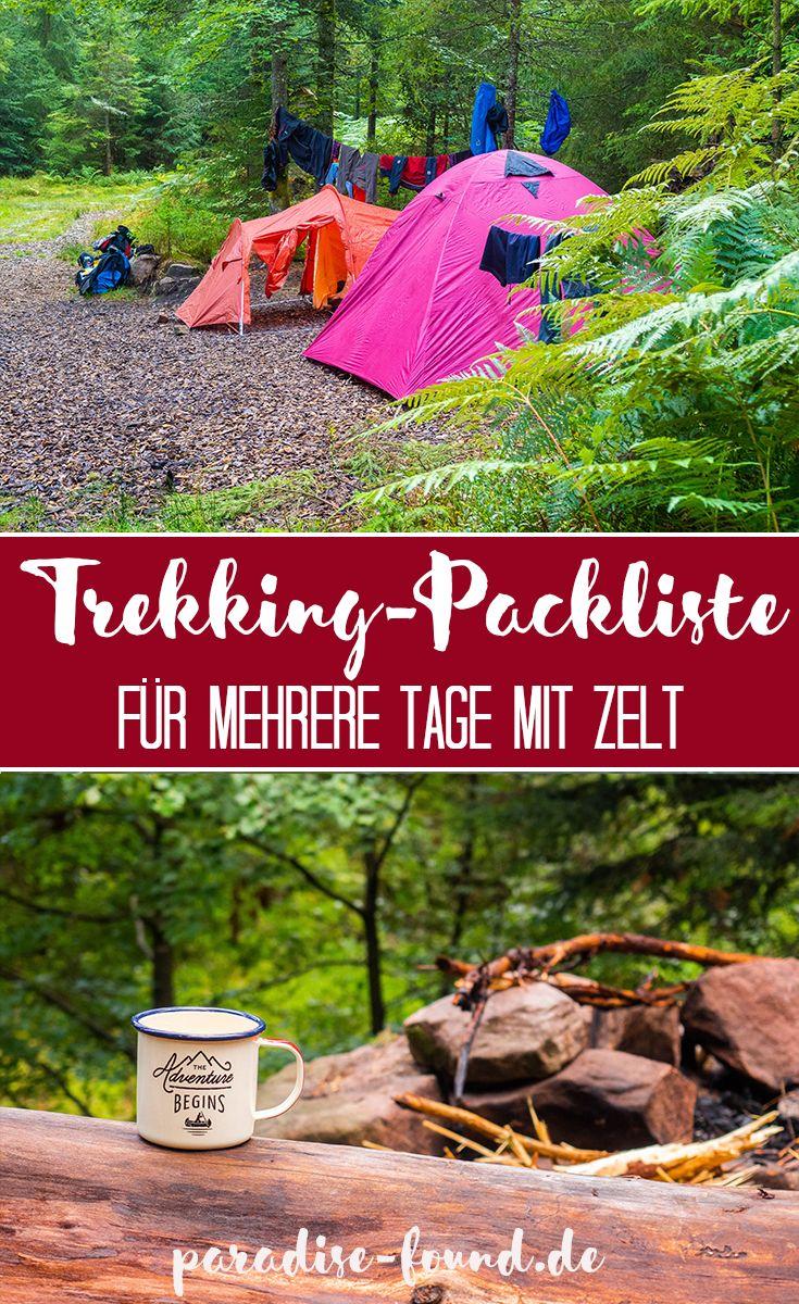 Photo of Trekking im Schwarzwald: Wildcampen, Rezepte & Packliste für eine Mehrtageswanderung