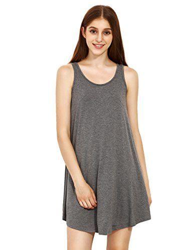 acb08c6943177 ROMWE Women's Sleeveless Summer Swing Tank Sundress | Products ...