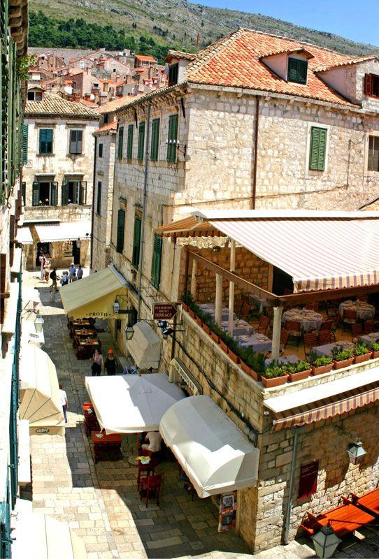 Restoran Proto Raspored Stolova Najbolji Restoran U Dubrovniku Riblji Specijaliteti Croatia Dubrovnik Views